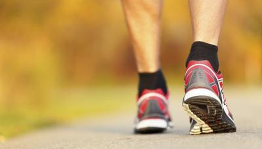 Running shoes are available in many different types.