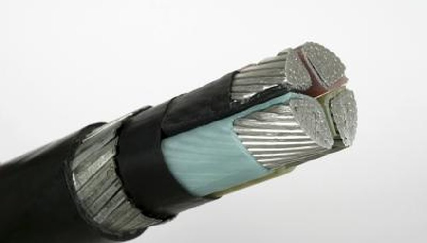 High-voltage wires are shielded.