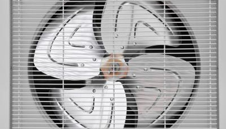 Without a working fan, cool air can't circulate and becomes trapped inside the unit.