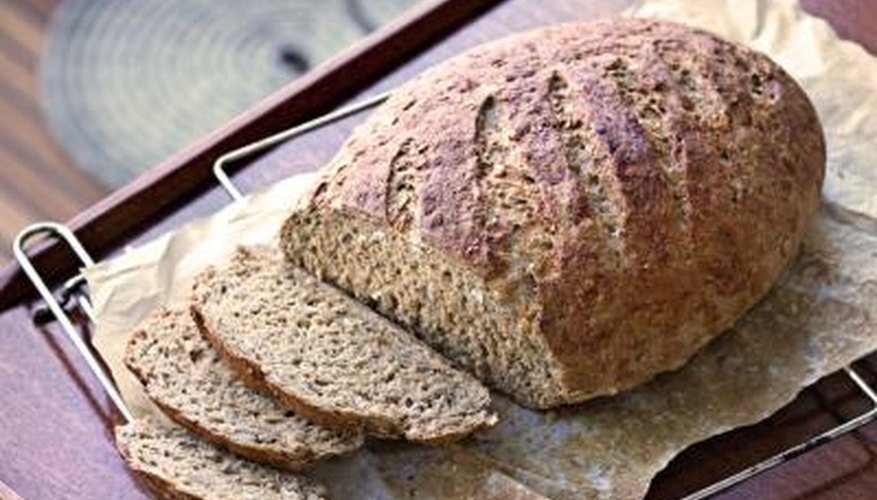 Bread mold reproduces by releasing spores into the air.