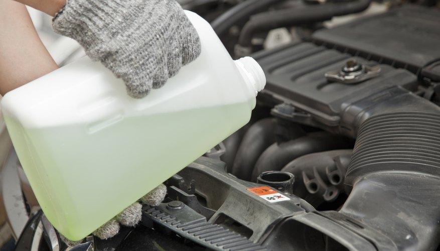 Ethylene glycol is often used in antifreeze.