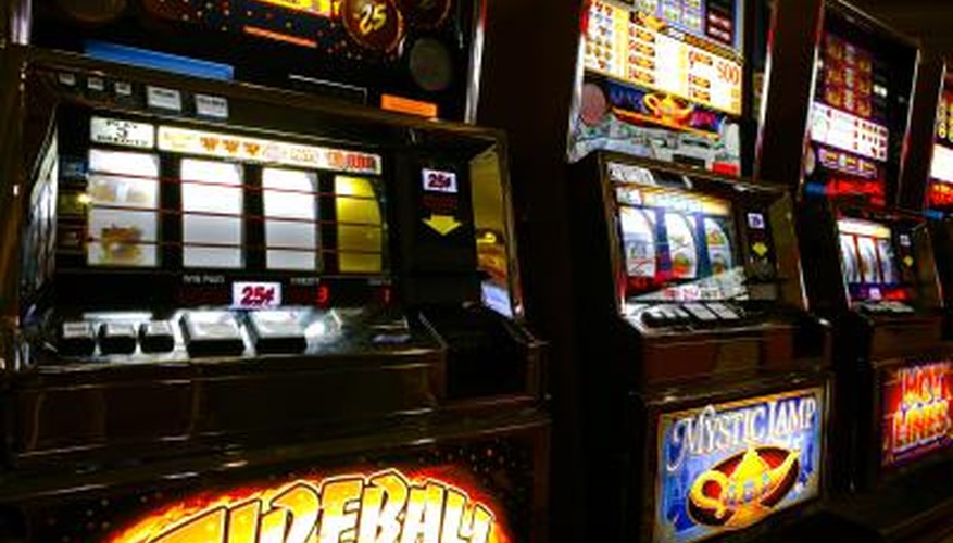 Play a slot machine until you have about 50 percent of your starting amount.