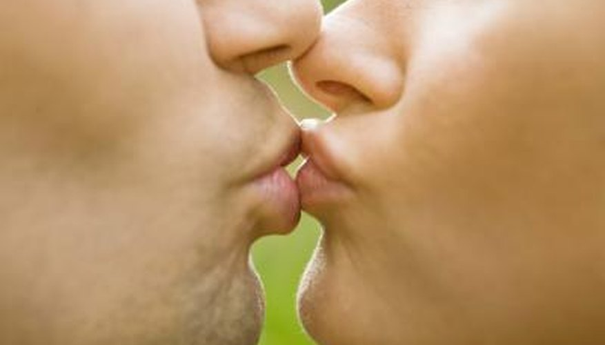 The recipient of the kiss can determine what kind of kiss it will be.
