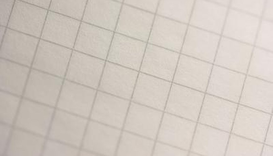 Graph paper will help you draw the bed to scale.