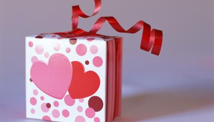 Personalize your gift with a romantic love note.