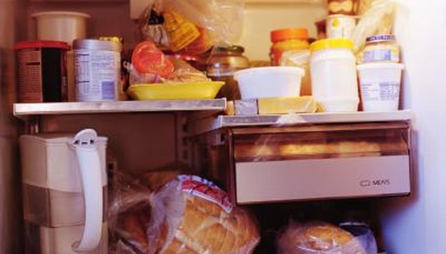 Bread in the fridge will mold less quickly than bread in the cabinet.
