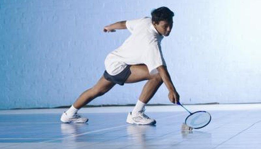 Badminton error.