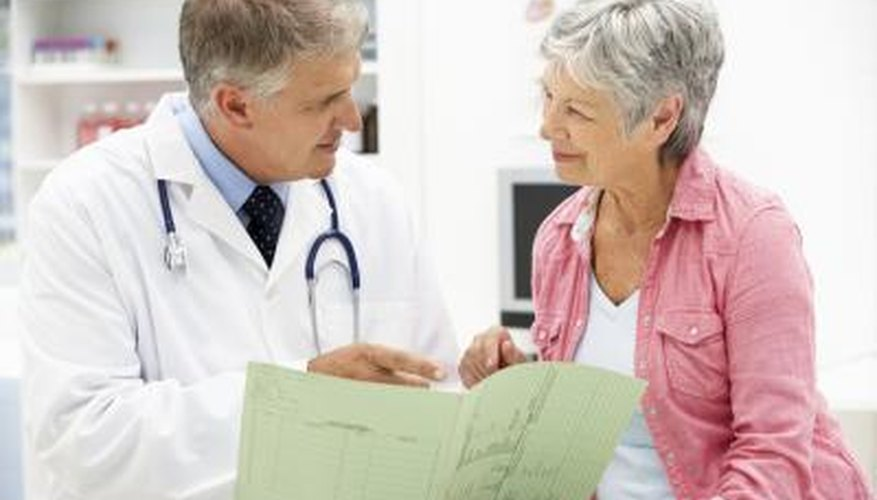woman speaking with her doctor