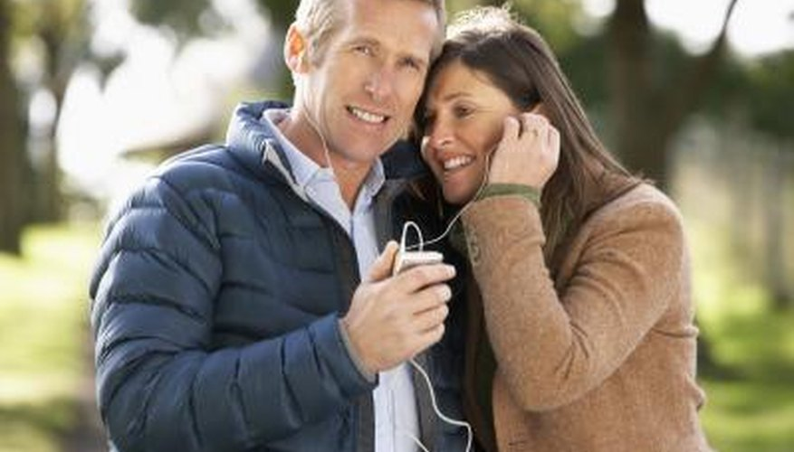 Sharing earphones transfers bacteria.