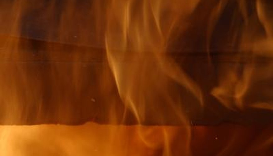 When a magnet is heated in a hot flame, it will lose its magnetization.