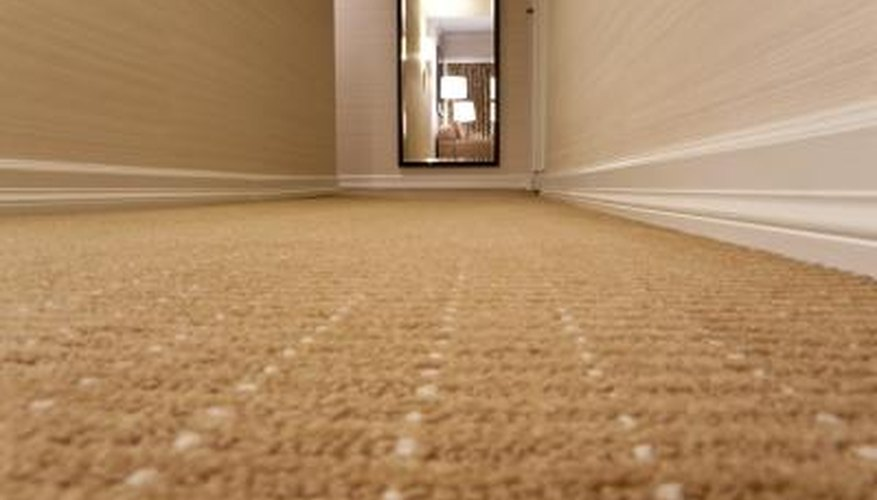 There is Berber carpeting with built in stain protection.