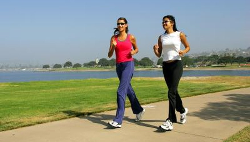 Make sure to walk or run daily to build your butt muscles and burn fat