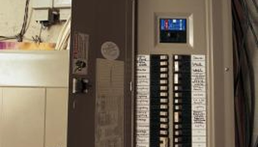 """The breakers in your home's breaker box """"trip"""" when the circuit overloads."""