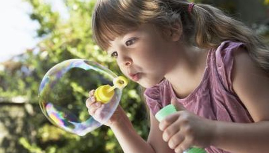 Blowing bubbles dates back to the 17th century.