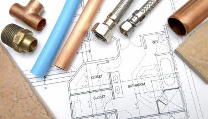 Plumbing pipes and plans