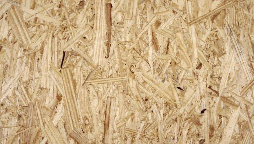 Engineered wood surface.