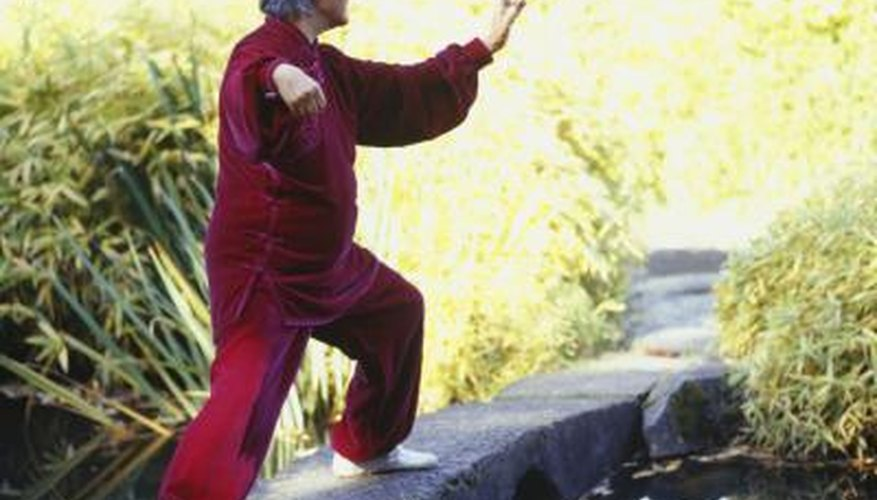Tai chi promotes balance and well-being.