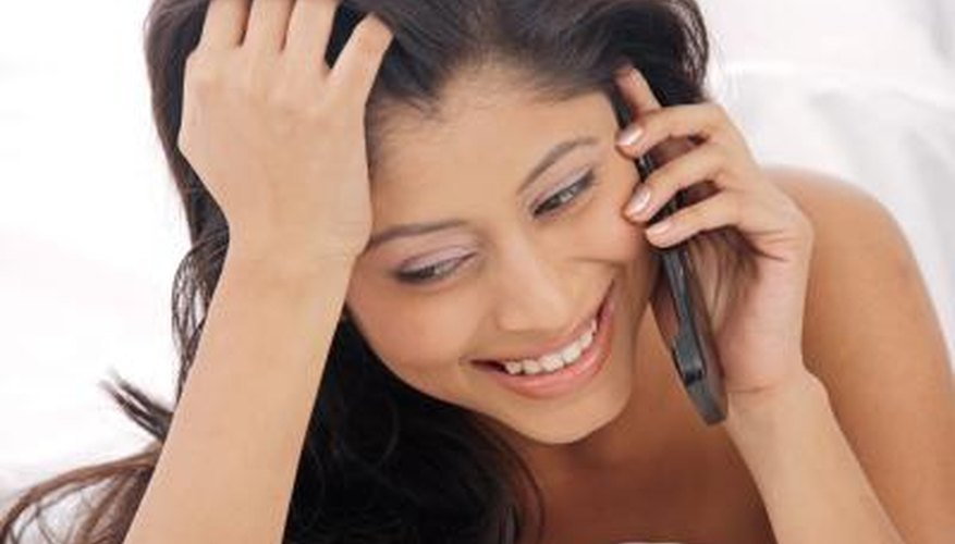 Schedule a good-night phone call.