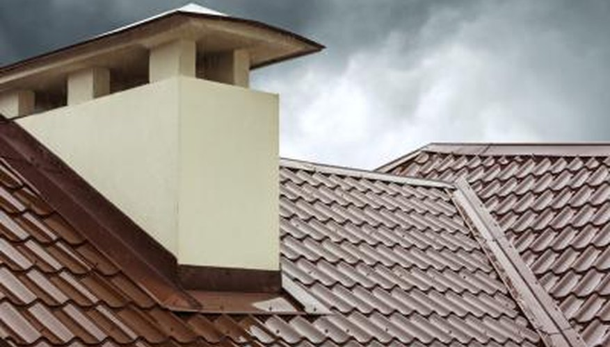 A metal roof is fireproof and can last up to 50 years.