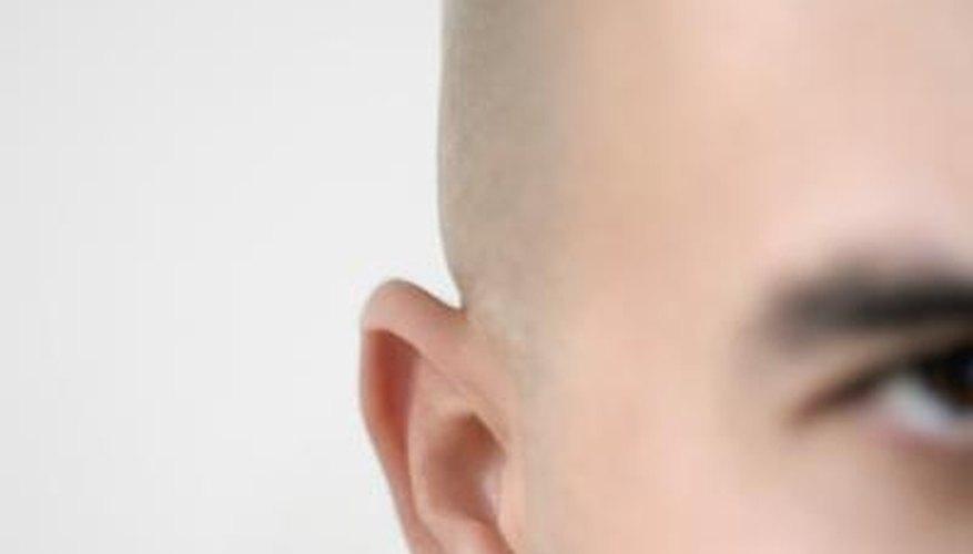 A healthy earlobe.