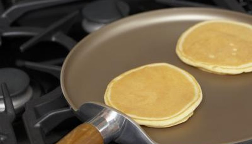Smaller griddles are ideal for just one or two pancakes.