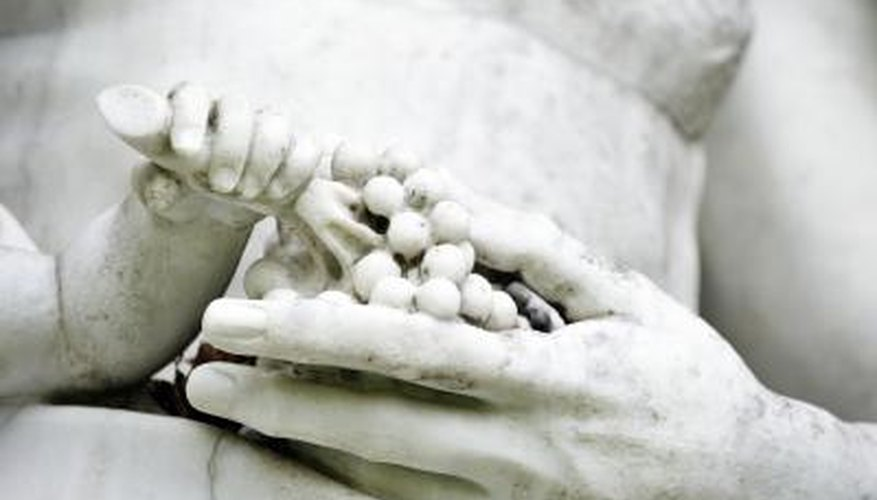 Carrara marble has been favored for use in sculpture throughout history.