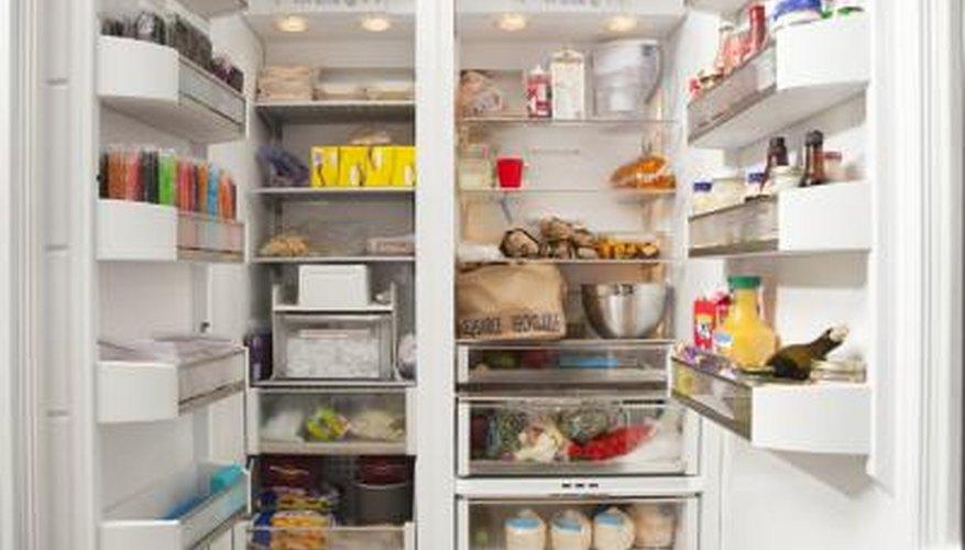 Refrigerators should be around 40 degrees Fahrenheit