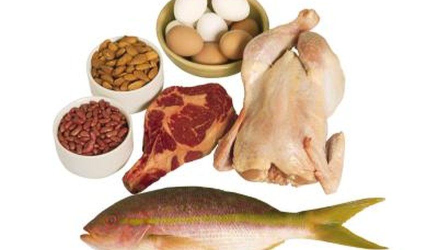 Many forms of protein.