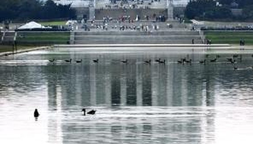The Lincoln Memorial is at risk of being damaged by pollution.