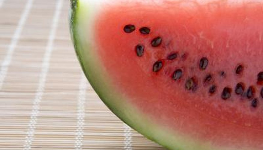 A slice of watermelon.