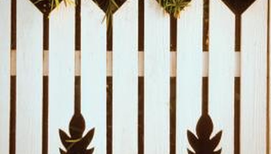 Using a different fence design helps a fence stand out.