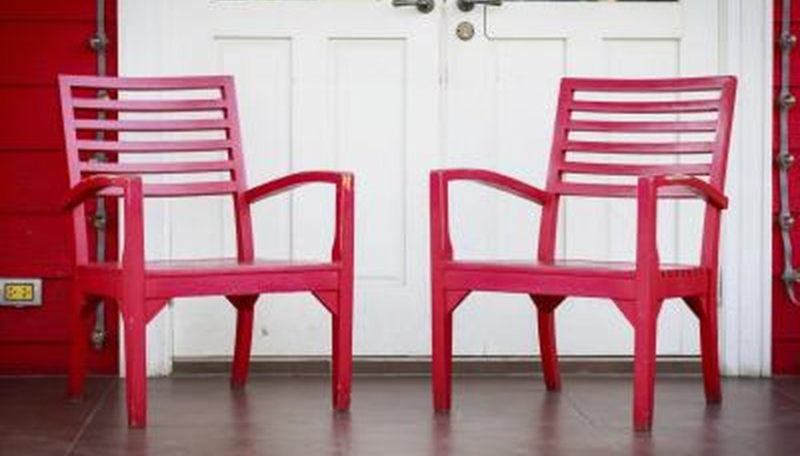 Try repainting used furniture.