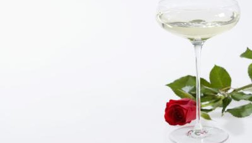 A champagne coupe is a champagne glass with a bowl-shaped receptacle for the beverage.