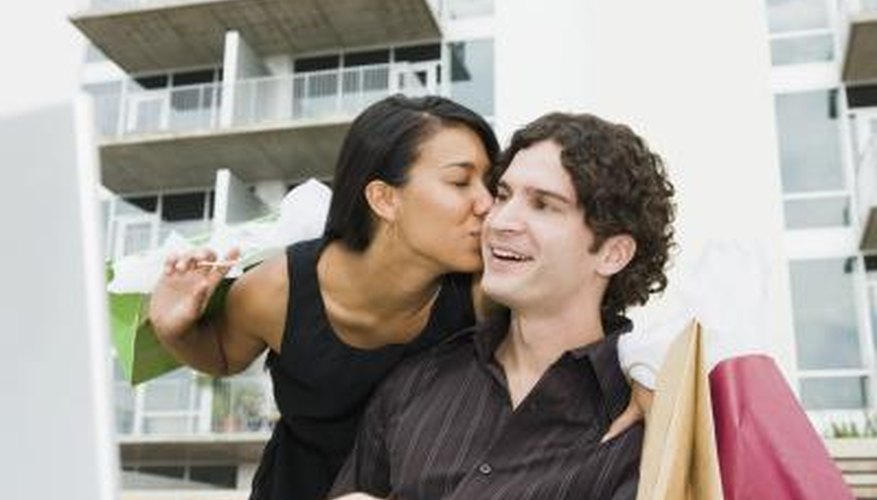 Kissing is one way to remind your partner about the feelings you have for them.