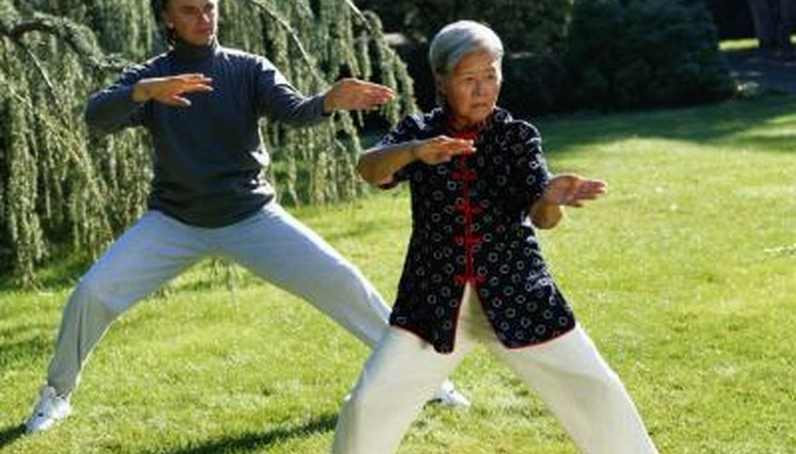 Tai chi is often presented as a kata.