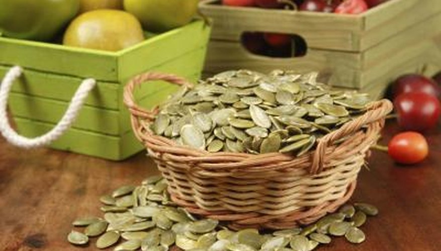 Pumpkin seeds come in multiple varieties
