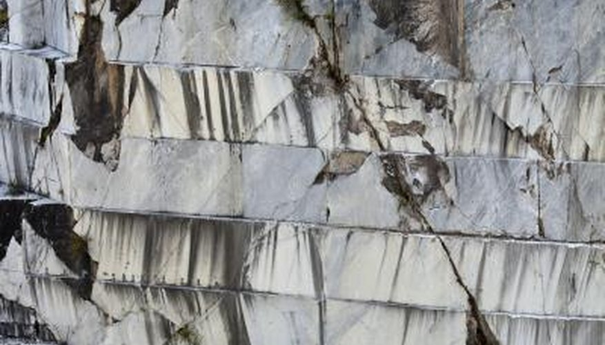 Carrara marble is a metamorphosed limestone.