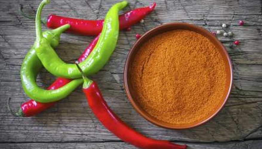 Cayenne pepper can break up the phlegm in your throat and clear your airways.