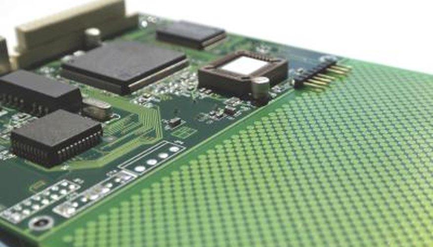 An older microprocessor.