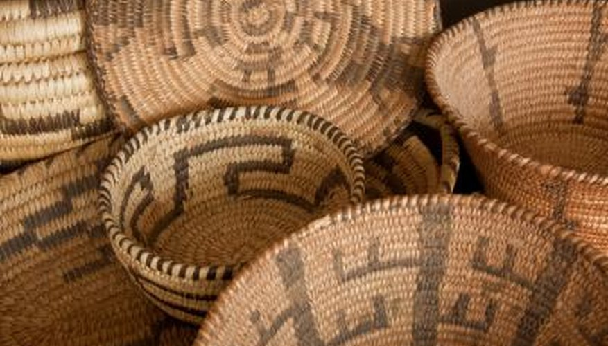 Native American baskets.
