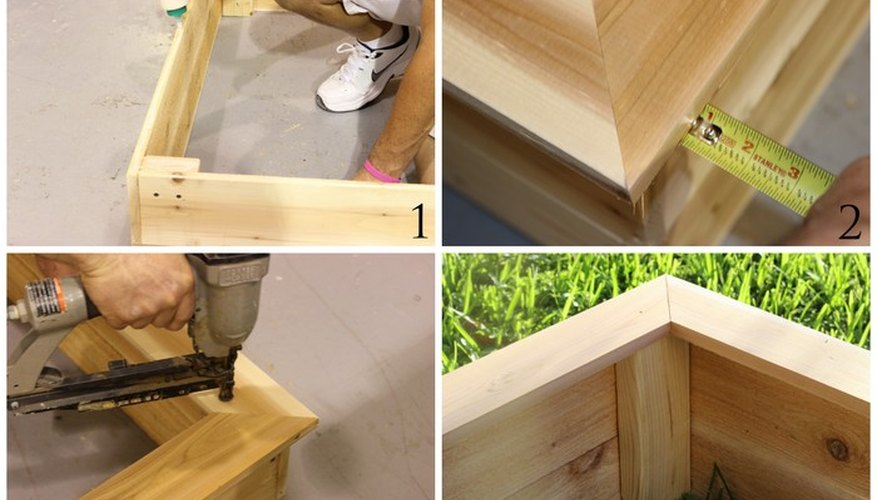How to Make an Outdoor Garden Box