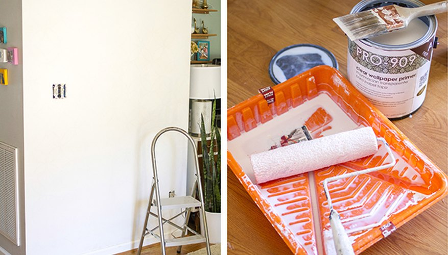 Specially formulated wallpaper primer ensures easy application and a long-lasting finish.