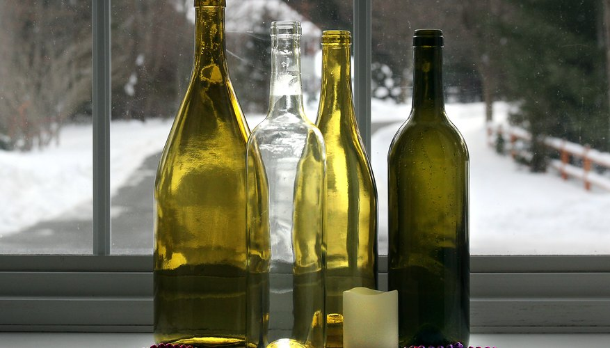 Crafts For Christmas With Wine Bottles Our Pastimes