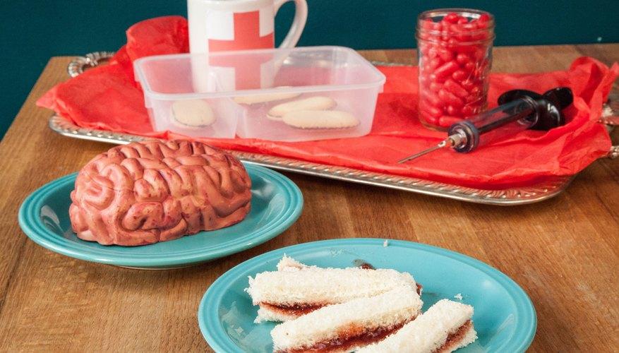 Sirve a tus invitados comida con formas inspiradas en la anatomía.