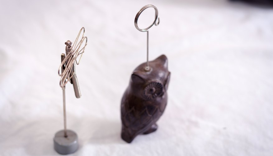 How To Make Wire Picture Holders Our Pastimes