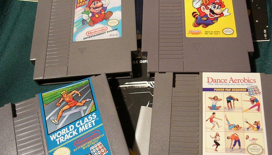 Cartuchos de juegos populares para Nintendo NES