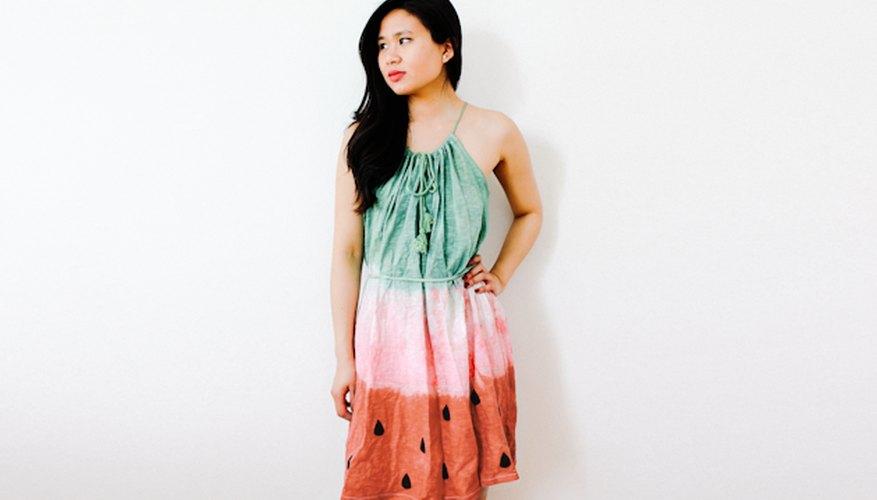 Endulza tu verano con este vestido de sandía hecho por ti misma.