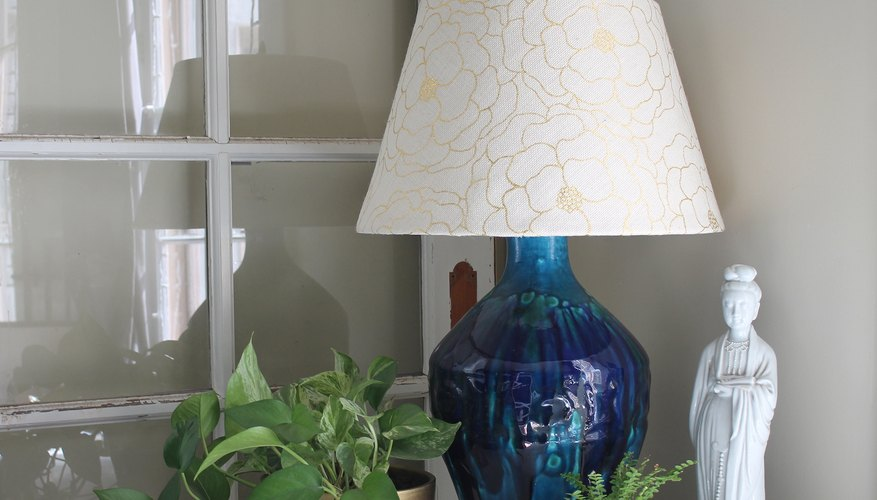 Custom lamp shade.