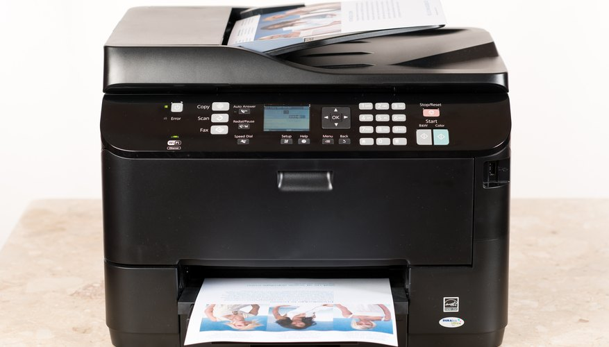A photocopier that copies color images and text.