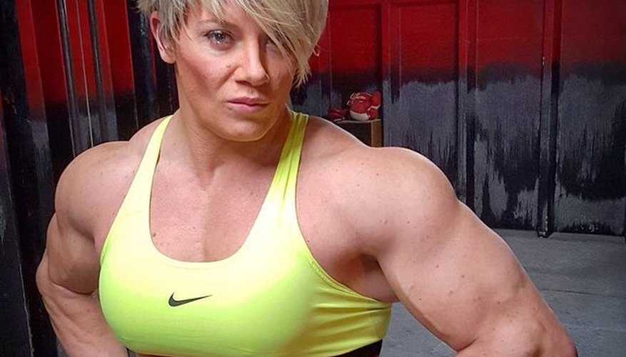 This is what its like to fuck a muscle woman